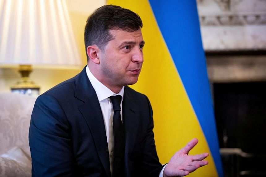 Ukrainian President Volodymyr Zelensky reportedly feels well and will continue to perform his duties remotely in self-isolation.