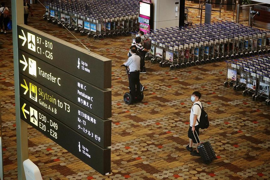 Travellers must take the test at least 72 hours before departing for Singapore.