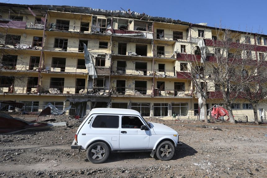 Azerbaijan says it has since Sept 27 retaken much of the land in and around Nagorno-Karabakh that it lost in a 1991-94 war.
