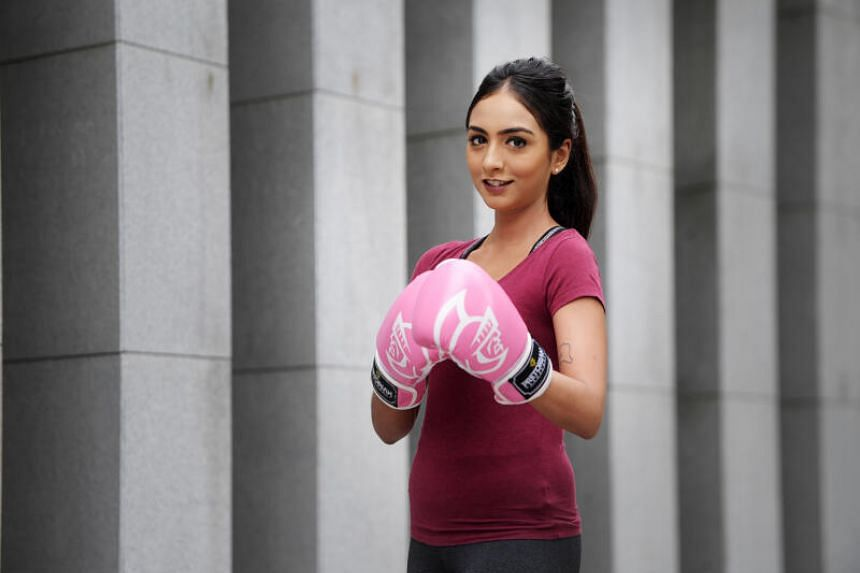 Turning to exercise helped Ms Khamnee Martin Thrumalinggam feel better mentally and physically.
