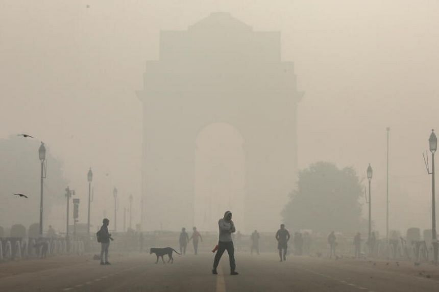 Delhi's overall air quality index rose to 488, its highest level in a year, according to government data.