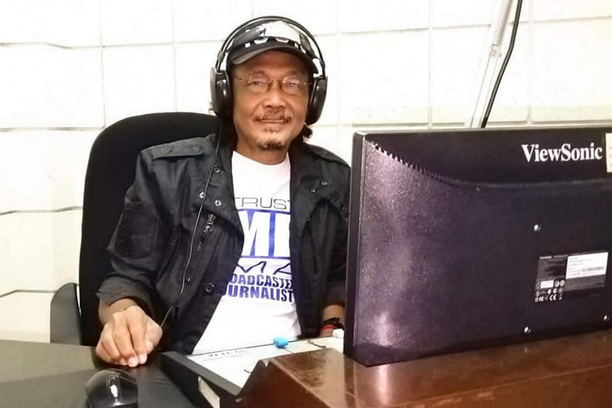 Mr Virgilio Maganes was a commentator for radio station DWPR in the northern province of Pangasinan.