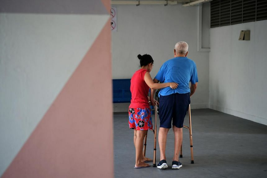 Migrant domestic workers are often overworked resulting in caregiver burden.