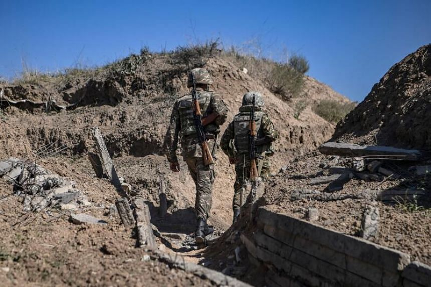 The deal ends six weeks of military conflict in the South Caucasus region that has killed over 1,200 and left thousands displaced.