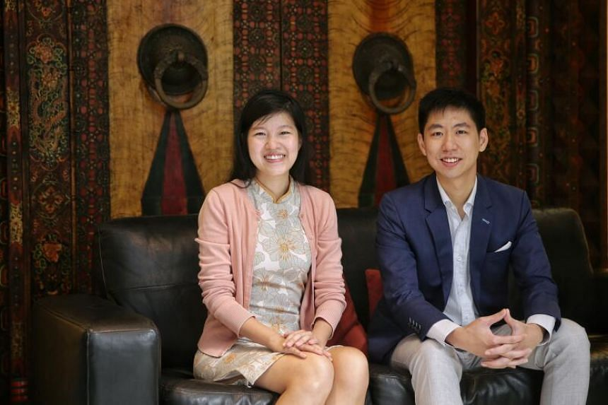 Mr Peter Oh and his wife Deborah Ong are looking to build up an inventory of 100 policies of between $3 million and $5 million.