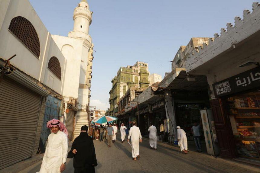 Several injured in blast at graveyard ceremony in Saudi Arabia