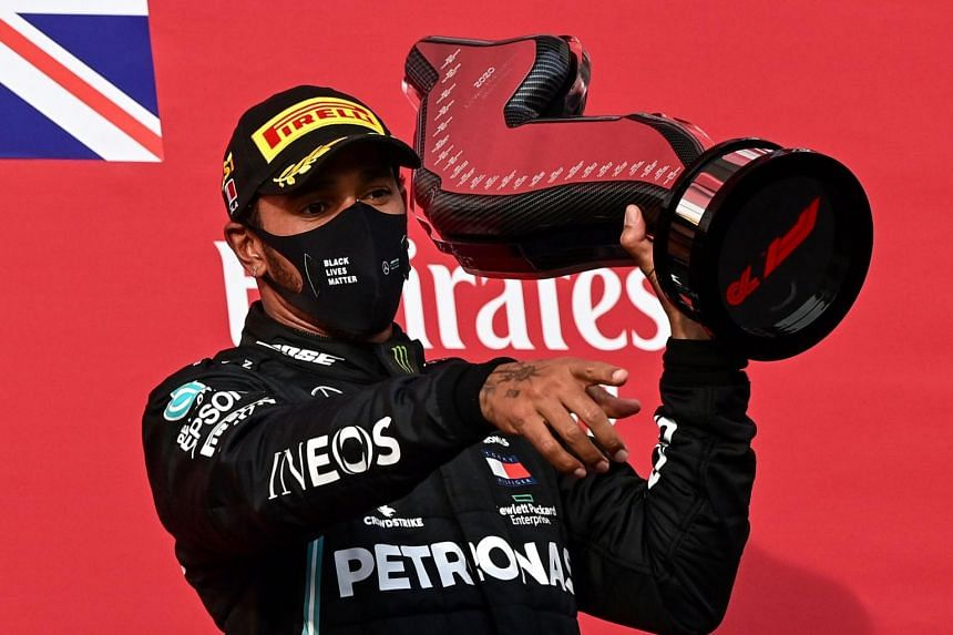 The Briton needs only to prevent his Mercedes team-mate Valtteri Bottas from beating him.