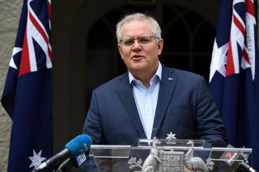 The trip is Mr Scott Morrison's first overseas tour since the coronavirus pandemic began.