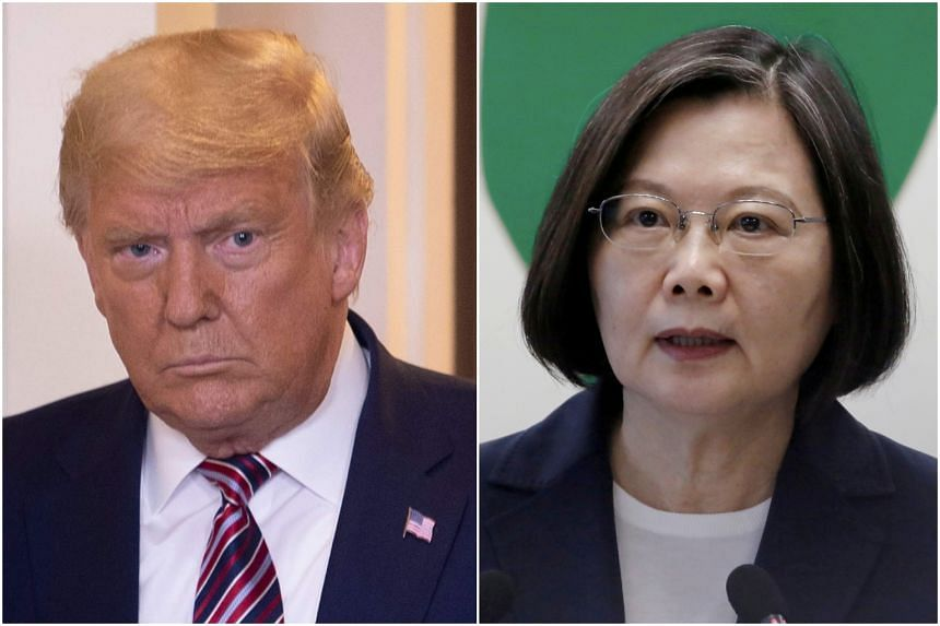 As President-elect in 2016, Donald Trump received a call from Taiwanese President Tsai Ing-wen to congratulate him on his win, which infuriated China.