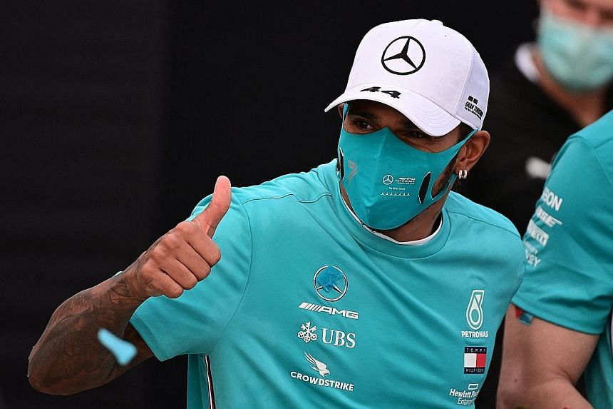 Lewis Hamilton has the chance to seal the drivers' championship in Turkey if he finishes ahead of teammate Valtteri Bottas.