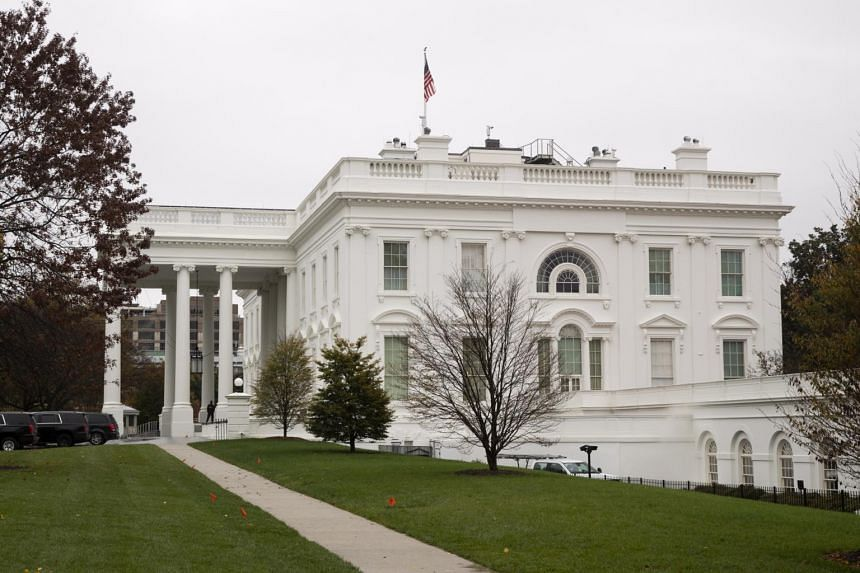 The North Lawn of the White House in Washington on Nov 12, 2020.