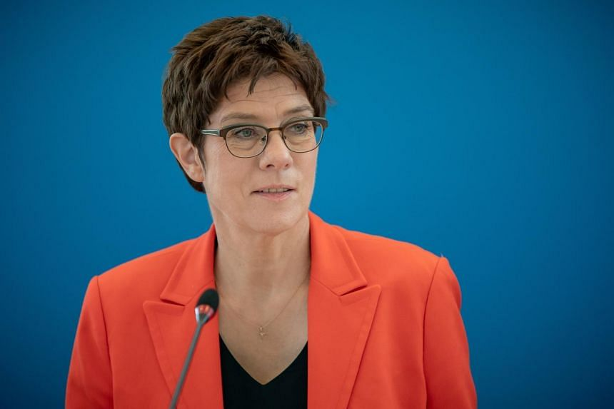 German Defence Minister Annegret Kramp-Karrenbauer  believes the West and other like-minded partners must square up to an increasingly assertive China.