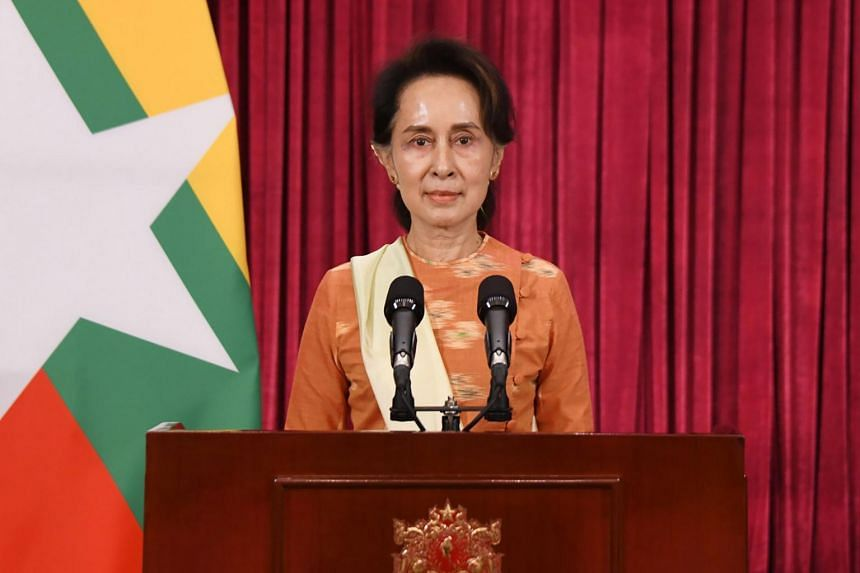 The comfortable win will be a welcome boost for Ms Suu Kyi, who has had a turbulent first term.