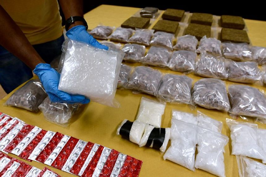 The total amount of heroin and other drugs seized is estimated to be worth close to $2 million.