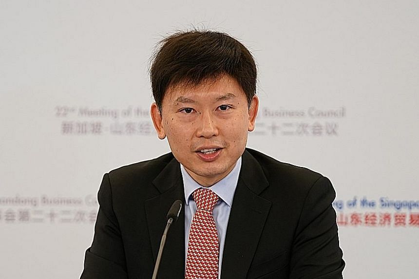 SENIOR MINISTER OF STATE FOR FOREIGN AFFAIRS AND TRANSPORT CHEE HONG TAT