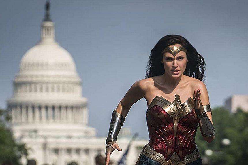 Gal Gadot is the superhero in Wonder Woman 1984.