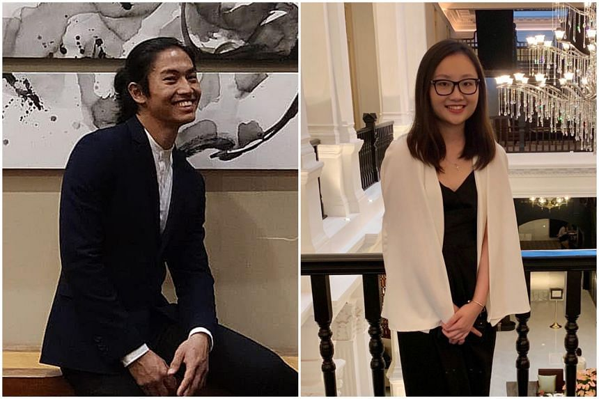 Dentistry student Ryan Chan recently completed his third year at the University of Western Australia, while Ms Tricia Koh will be pursuing occupational therapy at the University of Queensland next year.