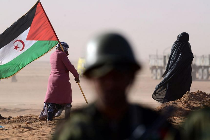 The Polisario seeks Western Sahara's independence from Morocco, which has held the vast desert region since Spain quit in 1975.