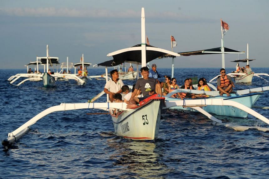 Bali saw a surge in holidaymakers during a long weekend at the end of October.