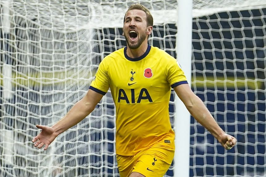 Harry Kane has scored seven goals and provided eight assists in eight Premier League matches for Spurs this campaign.