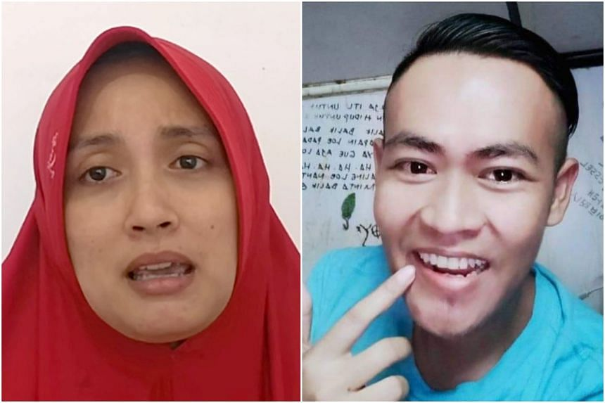 Ms Ingrid Frederica does not know the current whereabouts of her husband, seafarer Samfarid Fauzi.