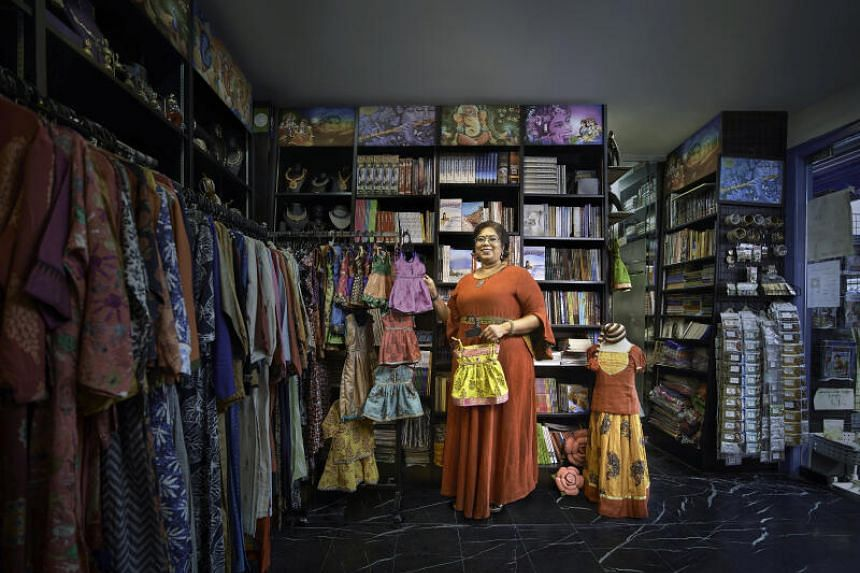 Mrs Prema Mahalingam, owner of local textile and book shop Aaria Creations is collaborating with pharma giant AstraZeneca on a virtual storytelling competition.