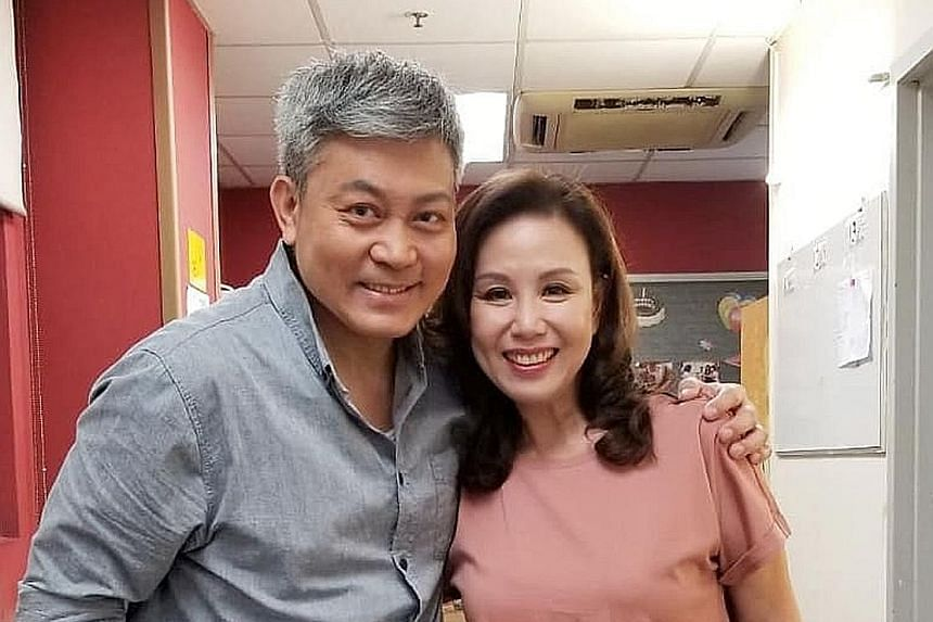 Hong Kong actor Savio Tsang with actress Candy Man, who posted a few photos of them together and confirmed his death on Facebook.