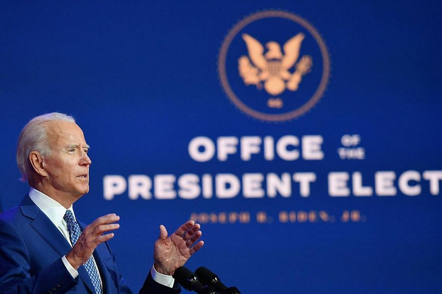 With his experience and vast network of influential friends, Mr Joe Biden is well prepared for the presidency and the challenges of America's foreign relations, says the author.