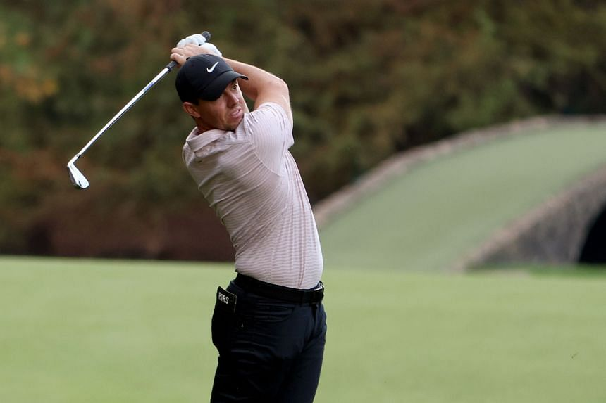 Rory McIlroy finished equal fifth at Augusta National on Nov 15.