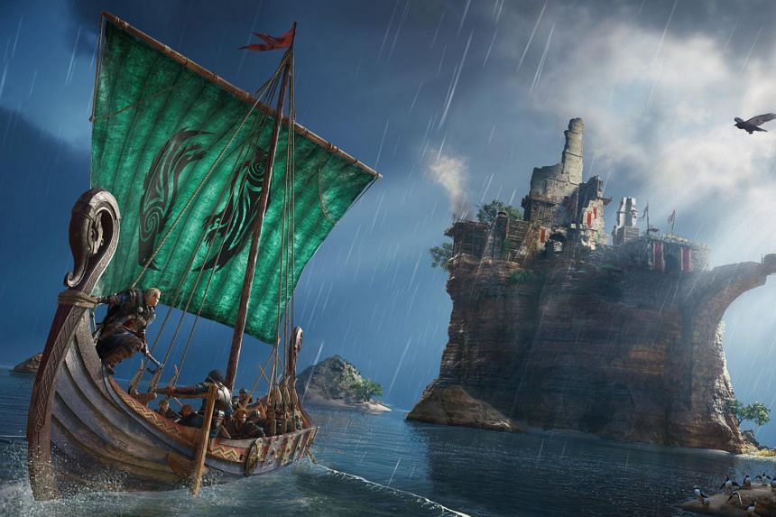 Ubisoft Singapore worked with 14 other studios around the world on Assassin's Creed Valhalla, and is responsible for the naval feature.