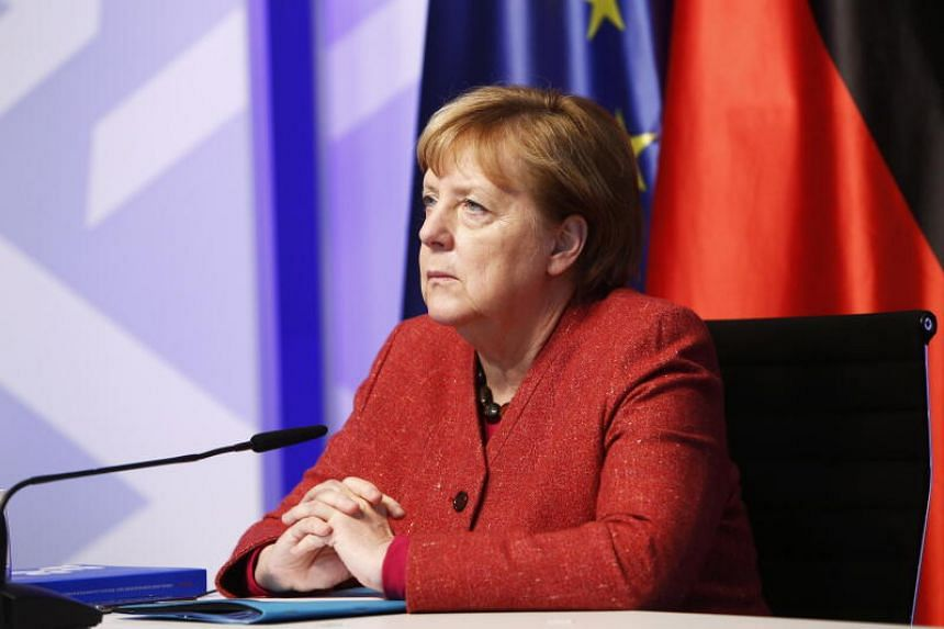 Dr Merkel has repeatedly urged Germans to abide by hygiene and distancing rules so that health-care services don't collapse.