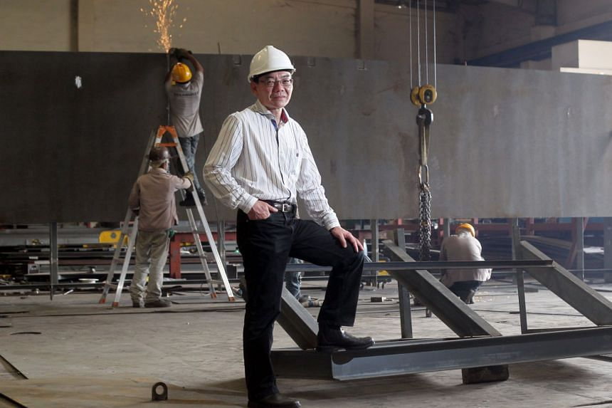 Starburst Holdings executive chairman Edward Lim in a photo from 2014.
