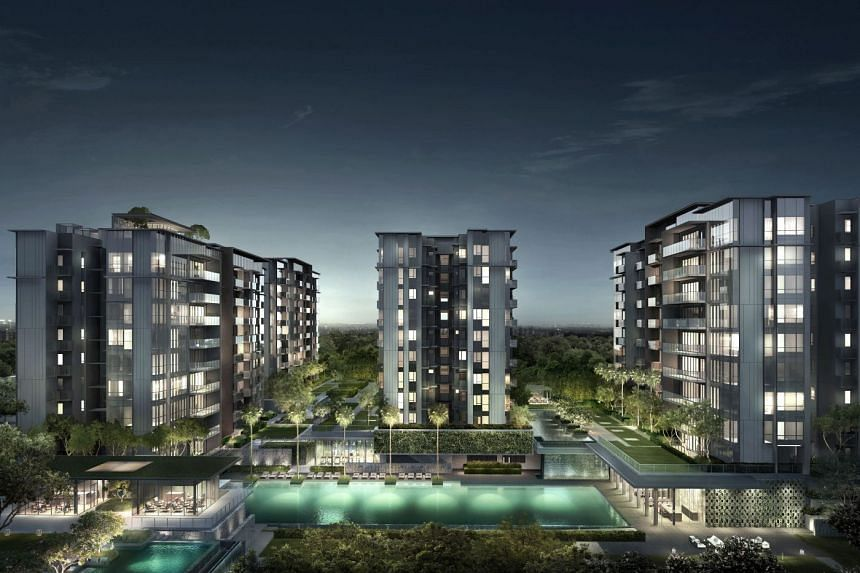 An artist's impression for Forett at Bukit Timah. PHOTO: FORETT AT BUKIT TIMAH