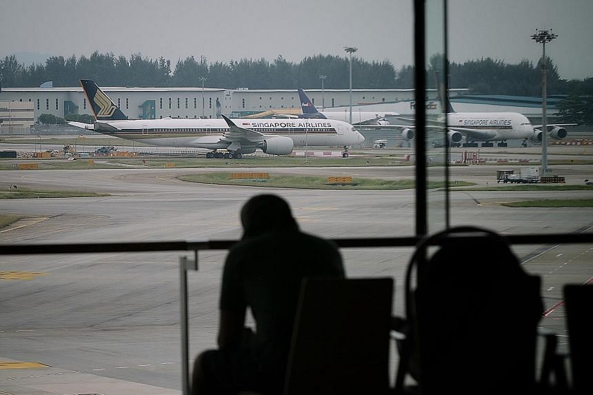 Singapore Airlines has to continue restructuring, and become leaner and perhaps smaller, says the writer. It needs to be positioned to capitalise on any recovery in air travel as the initial burst could be huge.
