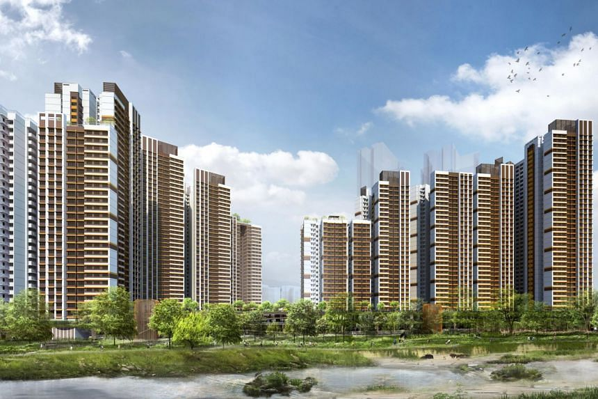 The biggest housing project is Bishan Ridges.