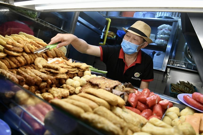 """FMAS vice-president Anthony Low, who owns a cooked food stall at Boon Lay Place Market and Food Village, said the news was an """"affirmation"""" and an """"encouragement""""."""