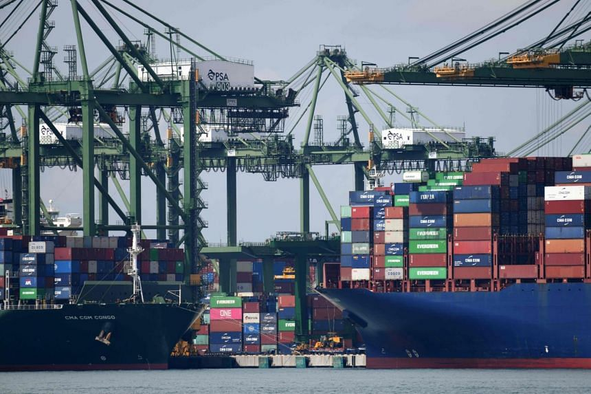 Month on month and seasonally adjusted, non-oil domestic exports in October fell 5.3 per cent.