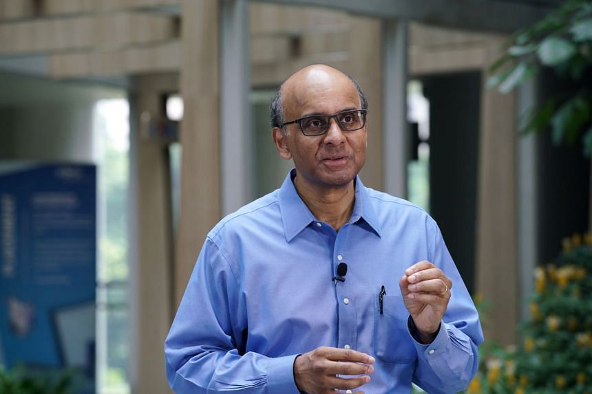 """Mr Tharman added that relying on traditional solutions to inequality, such as passive and redistributive measures, """"is not going to change the game""""."""