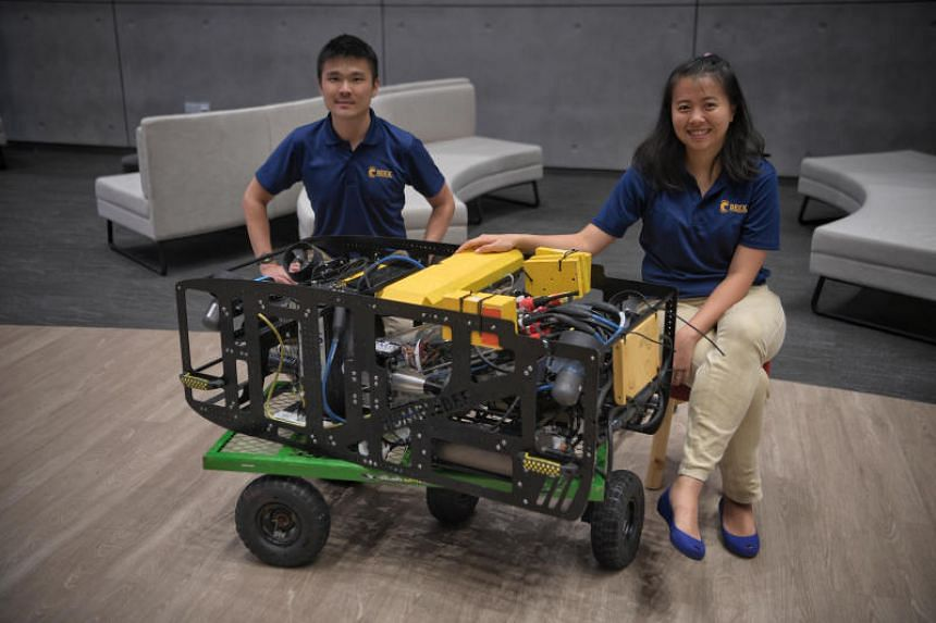 BeeX is also looking at deploying the robots to help in the pursuit of cleaner energy here.