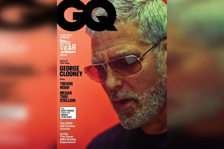 George Clooney was named GQ magazine's Icon of The Year in its latest issue.