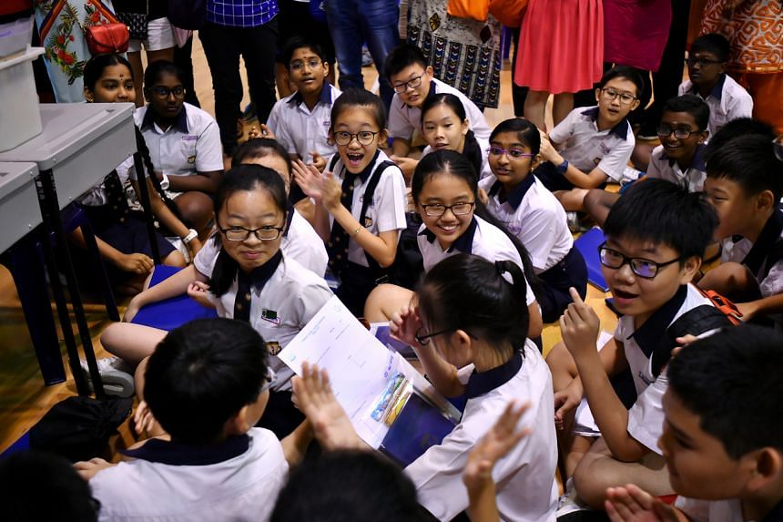 Due to the younger age of PSLE students, a parent or guardian will be allowed to accompany their child or ward to school to collect their results.