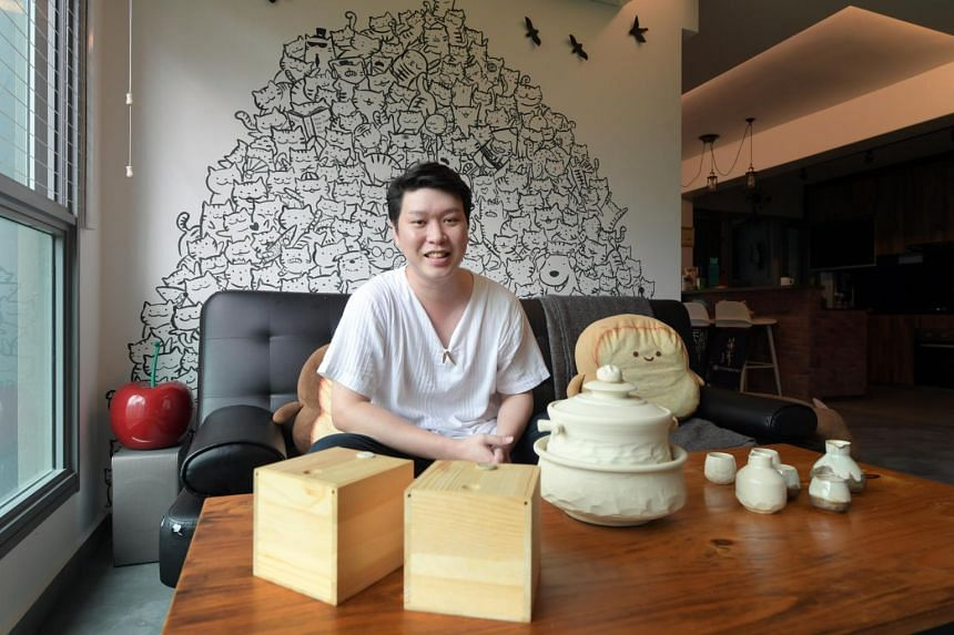 Young HDB dwellers such as Josiah Zee say commissioning works from artists gives their homes an unusual decor touch.