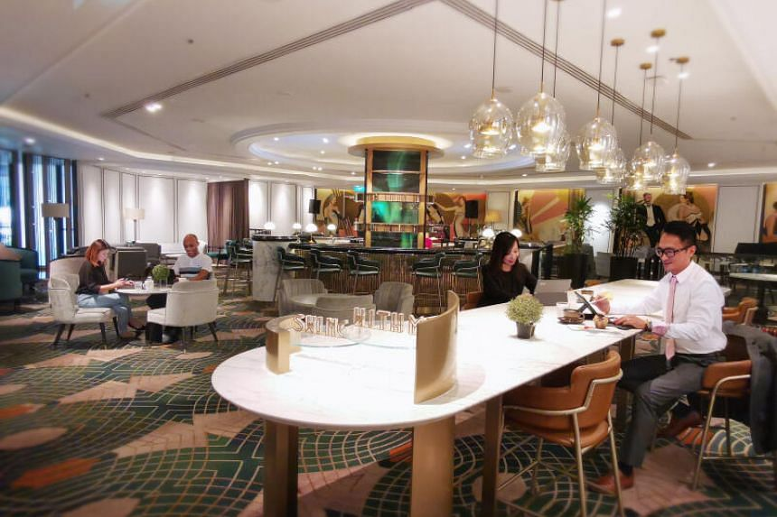 Orchard Hotel has portioned areas as pay-per-use co-working spaces since November.