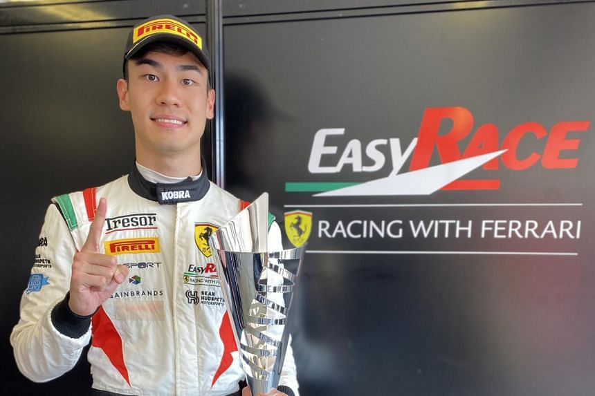 Sean Hudspeth had joined GT racing team AF Corse using Ferrari cars in 2019.