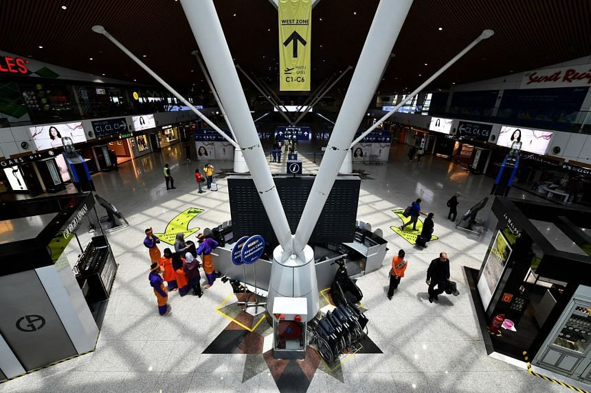 KLIA and KLIA2 are the easiest points for the movement of foreign workers and illegal immigrants, said a source.