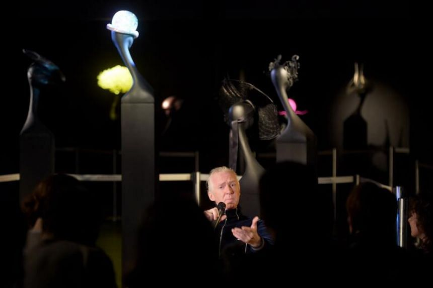 Forty-six pieces of the designer's work feature in the Maestro Philip Treacy exhibition.