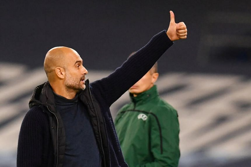 Manchester City manager Pep Guardiola has guided the team to two Premier League titles and an FA Cup since his arrival in 2016.