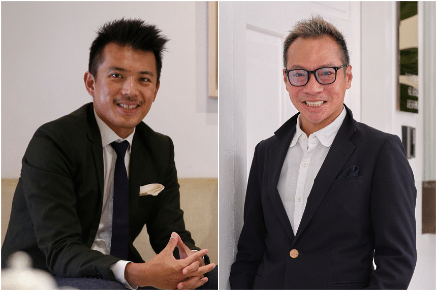 Mr Nelson Loh (left) co-founded Novena Global Healthcare with his cousin Mr Terence Loh.