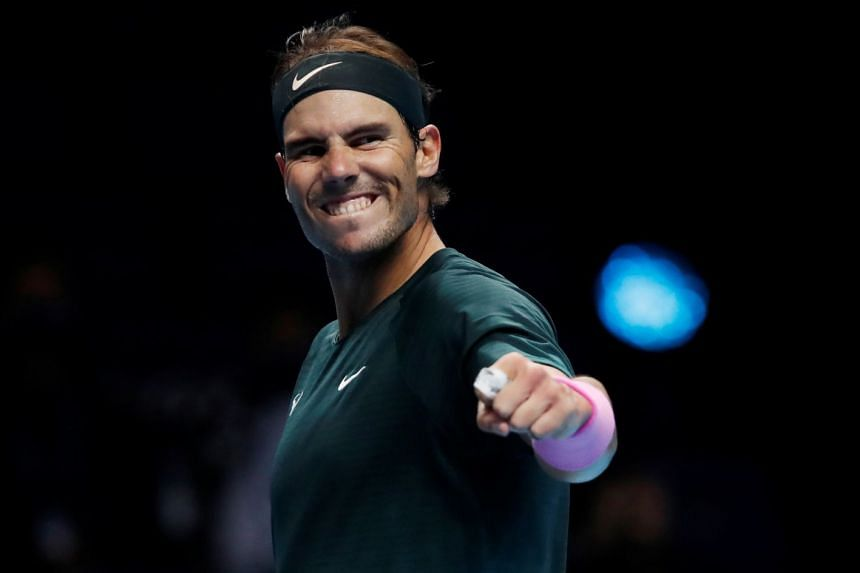 Rafael Nadal books place in ATP Finals semis by beating Stefanos Tsitsipas