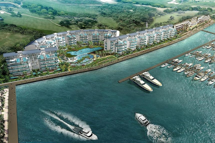 The loans granted and disbursed between December 2011 and September 2013 were for the purchases of 38 units in the Marina Collection developed and sold by LMC.